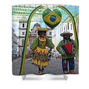 Pelourinho - Historic Center Of Salvador Bahia Shower Curtain