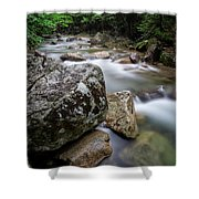 Pemi-basin Trail Shower Curtain