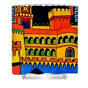 Pena Palace Portugal Shower Curtain