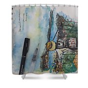 Penang Hills Shower Curtain