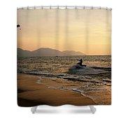 Penang Sunset Shower Curtain
