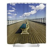 Penarth Pier 9 Shower Curtain