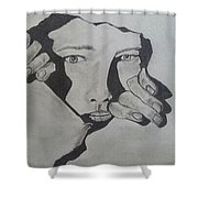Pencle Sketch Shower Curtain