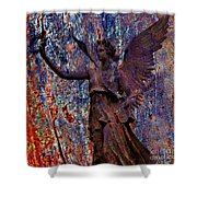 Pending Victory Goddess Victoria Shower Curtain