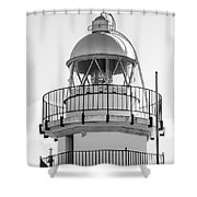Peniscola Lighthouse Of Spain Shower Curtain