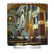 Penn Fine Arts Library Shower Curtain