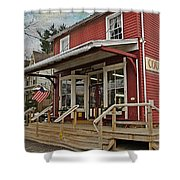 Pennsdale Country Store Shower Curtain by Stephanie Calhoun