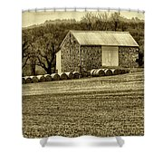 Pennsylvania Barn Shower Curtain