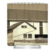 Pennsylvania Barn Shower Curtain