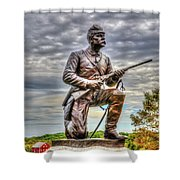 Pennsylvania Cavalry - Culps Hill Shower Curtain