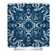 Pennsylvania Dutch Kaleidoscope Shower Curtain