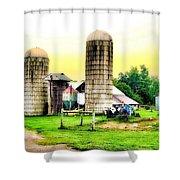Pennsylvania Farming  Shower Curtain