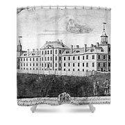 Pennsylvania Hospital, 1755 Shower Curtain by Granger