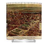 Pennsylvania Station 1910 Shower Curtain