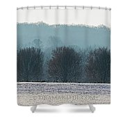 Pennsylvania Winter Shower Curtain