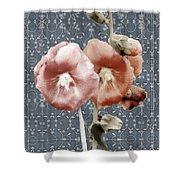 Penny Postcard Bombay Shower Curtain