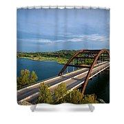 Pennybacker Bridge 1 Shower Curtain