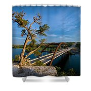 Pennybacker Bridge 2 Shower Curtain