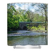 Pennypack Creek Bridge Built 1697 Shower Curtain