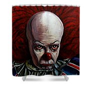 Pennywise 2 Shower Curtain