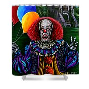 Pennywise It Shower Curtain