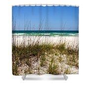 Pensacola Beach 1 - Pensacola Florida Shower Curtain
