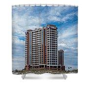 Pensacola Beach Resort Shower Curtain