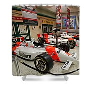 Penske Racing Indy 500 Hall Of Fame Museum Shower Curtain