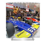 Penske Room In Indy Shower Curtain