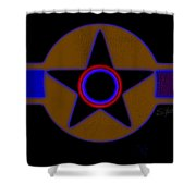 Pentagram Shower Curtain