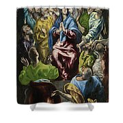 Pentecost Shower Curtain