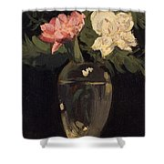 Peonies 1905, By Samuel John Peploe Shower Curtain