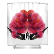 Peonies Shower Curtain