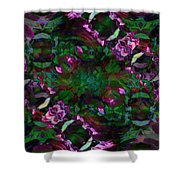 Peony Explosion Shower Curtain