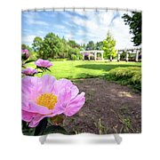 Peony Paradise Shower Curtain