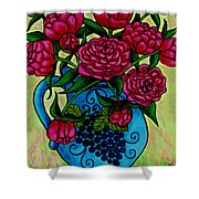 Peony Party Shower Curtain