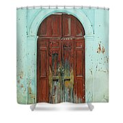 Peonza Perdida Shower Curtain