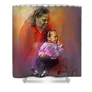 People From Memphis 03 Bis Shower Curtain