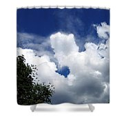 People In The Clouds Shower Curtain