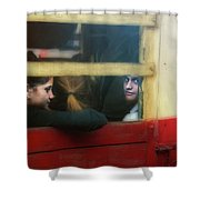 People Mover Shower Curtain