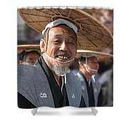 People Of Past Eras Shower Curtain