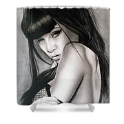 People- Seffy 2 Shower Curtain