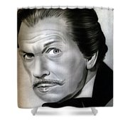 People- Vincent Price Shower Curtain