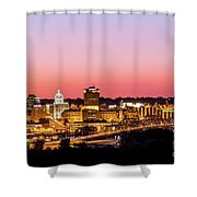 Peoria Downtown Shower Curtain