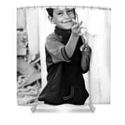 Peow Shower Curtain