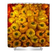 Pepper Colors Shower Curtain