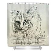 Pepper Shower Curtain