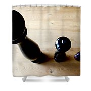 Pepper Mill Topside Shower Curtain