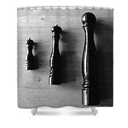 Peppermill Shower Curtain