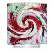Peppermint Stick  Shower Curtain